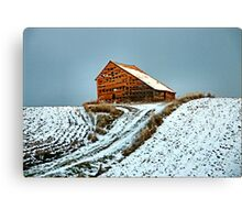 On a Hill in Idaho Canvas Print