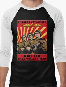 Garms Ink Revolution Men's Baseball ¾ T-Shirt