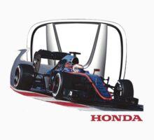 McLaren Honda F1 by harrisonformula