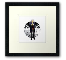 The 1st Doctor - William Hartnell Framed Print