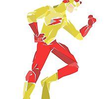 Kid flash by newtegan