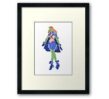 miss martian  Framed Print