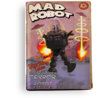 Mad Robot Pulp Cover Canvas Print