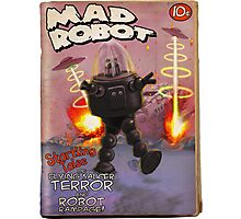 Mad Robot Pulp Cover Photographic Print