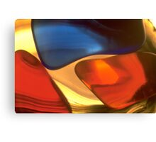 Coloured Glass Canvas Print