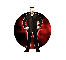 The 9th Doctor - Christopher Eccleston Photographic Print