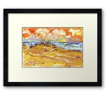 Sunrise over St. Lucia Framed Print