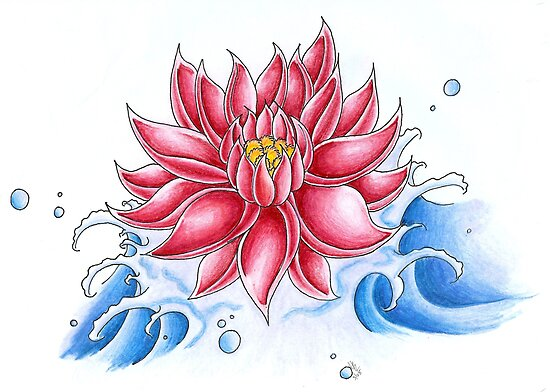 Bursting Lotus by Lynsye Medalia