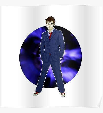 The 10th Doctor - David Tennant Poster