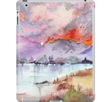 Veld Fire over the mountains iPad Case/Skin