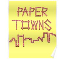 The Paper Town Poster