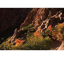 Rock Canyon Photographic Print