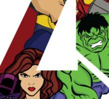 Avengers Assemble Sticker