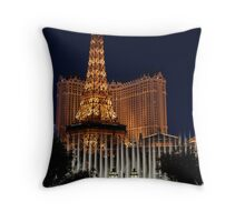 Vegas Fountain No. 2 Throw Pillow