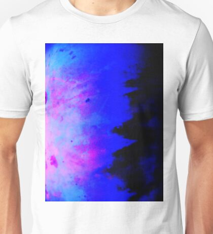 Blue Metal Abstract T-Shirt