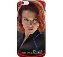 The Black Widow Killer Monster  iPhone Case/Skin