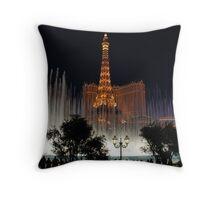 Vegas Fountain No. 4 Throw Pillow
