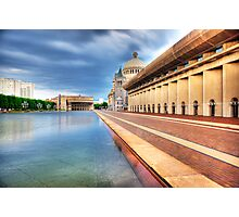 The Plaza Pool1 Photographic Print