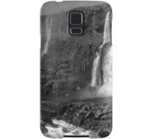 Iguazu in Monochrome Samsung Galaxy Case/Skin