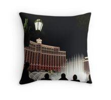 Vegas Fountain No. 3 Throw Pillow