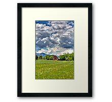 Green Green Grass Framed Print