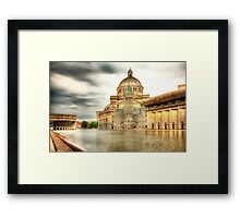 The Plaza Pool 2 Framed Print