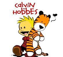 Calvin And doll hobbes by KattyAnne