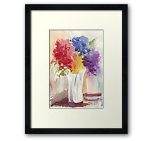 You wane upon my windowsill... Framed Print