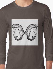 Braided Girl Long Sleeve T-Shirt
