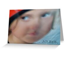 L'L DOLL © Vicki Ferrari Photography Greeting Card