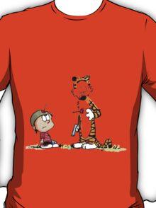 Calvin And Hobbes runner T-Shirt
