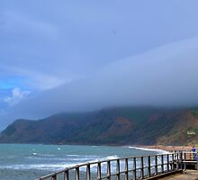 Sea Mist at West Bay, Dorset UK by lynn carter
