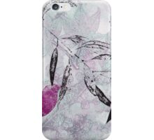 Garden Series 11 Monoprint iPhone Case/Skin