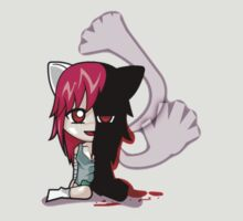 elfen lied lucy anime chibi shirt by JordanReaps