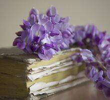Wisteria on a book by DonatellaLoi
