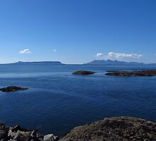 The Islands Eigg and Rum by wiggyofipswich
