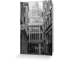 Barton Arcade - Front Greeting Card