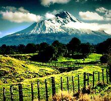 Mt Taranaki by Mike Rowley