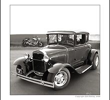 """""""Hot Rod Ford at Top Gun IV"""" by Don Bailey"""