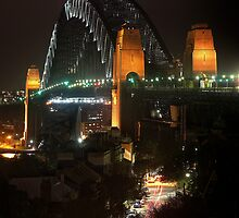 Rockin the Harbour Bridge by David Haworth