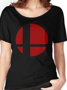Super Smash Bros Logo Women's Relaxed Fit T-Shirt