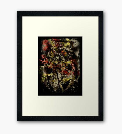 ancient howl Framed Print