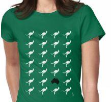 Kangaroos of Australia Womens Fitted T-Shirt