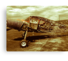 The Once Art of Flying  Canvas Print