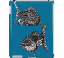 fish are friends, not food iPad Case/Skin