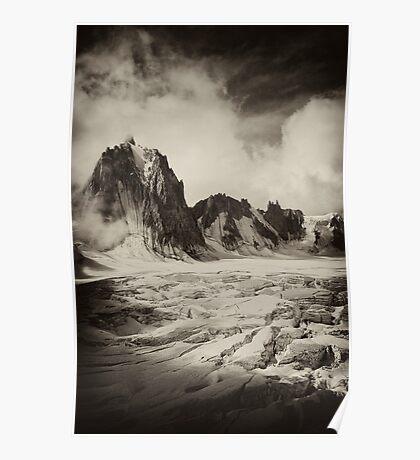 Glacier Mont Blanc Poster