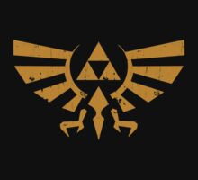 Triforce Crest - Legend of Zelda Kids Tee