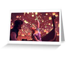 The Lights Greeting Card