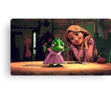A Day with Pascal Canvas Print