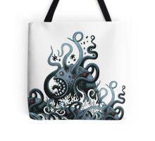 Octoworm (blue version) Tote Bag